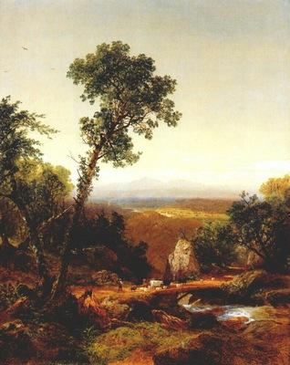 kensett white mountain scenery