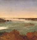 kensett niagara falls and the rapids c1851