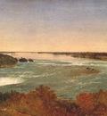 kensett niagara falls and the rapids c1851