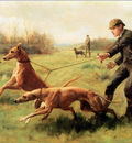 Kilburne George Goodwin Training of greyhounds Sun