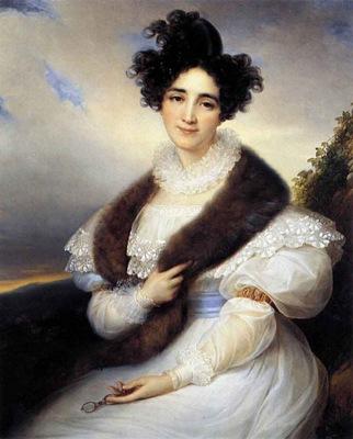 KINSOEN Francois Joseph Portrait Of Marie J Lafont Porcher