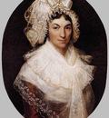 KINSOEN Francois Joseph Portrait Of Jeanne Bauwens van Peteghem