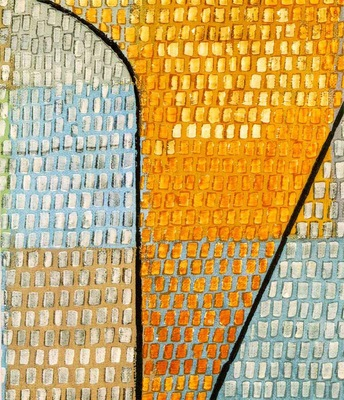 Klee Ad Parnassum, Detalj, 1932, 100x126 cm,