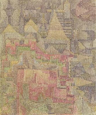 Klee Castle Garden Schlossgarten , 1931, 67 2x54 9 cm, Moma