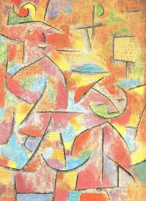 Klee Child and aunt, 1937, Galerie Beyeler, Basel