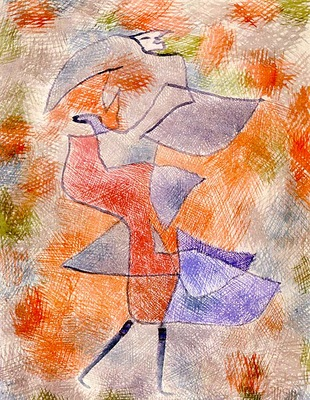 Klee Diana in the Autumn Wind, 1934, Kunstmuseum, Bern