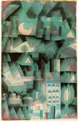 Klee Dream City, 1921, Priavate, Turin