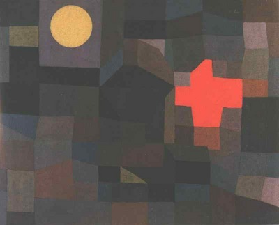 Klee Fire at full moon, 1933, Folkwang Museum, Essen