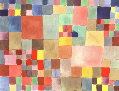 Klee Flora on sand, 1927, Collection Felix Klee, Bern