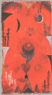 Klee Flower myth, 1918, Collection Dr  Bernhard Sprengel, Ha
