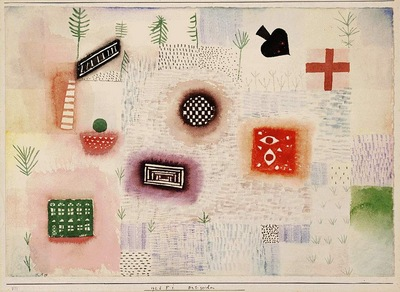 Klee Garden signs, 1926, Watercolor on paper, Barnes foundat