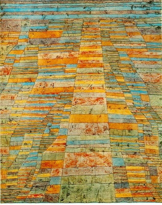 Klee Highway and byways, 1929, Collection Christoph and Andr