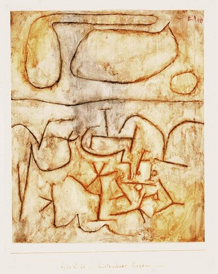 Klee Historic soil, 1939, Watercolor on paper, Barnes founda