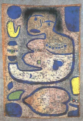 Klee Love Song by the New Moon, 1939, Klee foundation, Bern