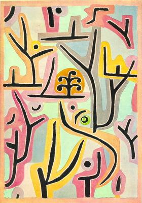 Klee Park nara L ucerne , 1938, 100x70 cm, Klee Stiftung, Be