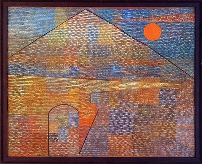 Klee Paul Ad Parnassum Sun