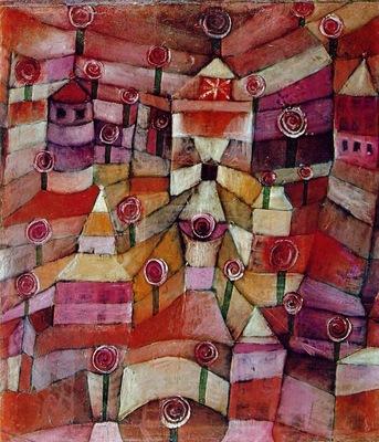 Klee Rose garden, 1920, 49x42 5 cm, Lenbachhaus, Munich