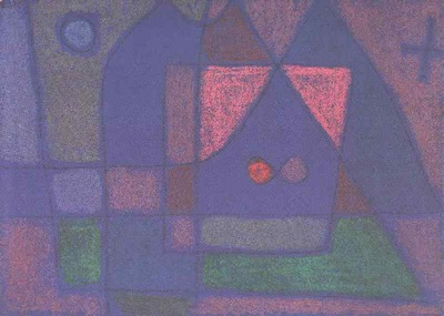 Klee Small room in Venice, 1933, Kunstmuseum, Basel