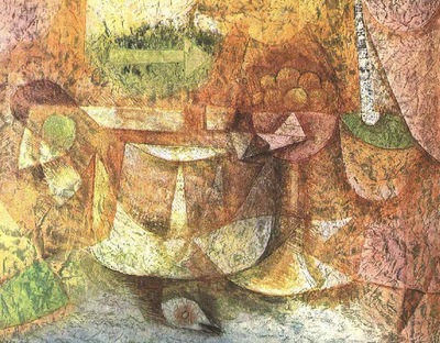 Klee Still Life with Dove, 1931, Priavate, Columbus, OH