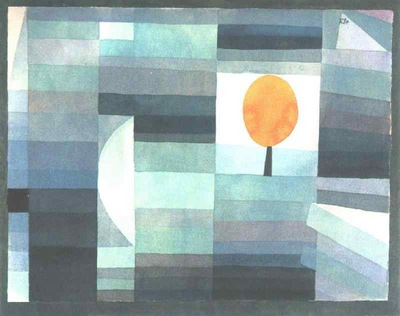 Klee The messenger of autumn, 1922, Yale University Art Gall
