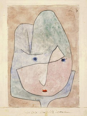 Klee This flower wishes to fade, 1939, Watercolor on paper,