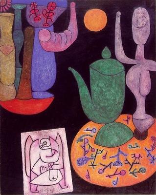 Klee Untitled Stilleben , 1940, 100 x 80 5 cm, Private, Sch