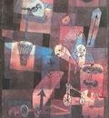 Klee Analysis of Various Perversities, 1922, Collection Hein