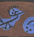 Klee Blue bird pumpkin, 1939, Collection Heinz Bergguen, Par