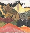 Klee In the Quarry, 1913, Klee foundation, Bern