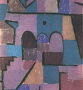 Klee Oriental Garden, 1937, Private, USA