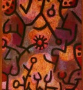 Klee Paul Flora on rocks Sun