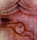 Klee Refuge, 1930, Oil and watercolor on plaster coated gauz