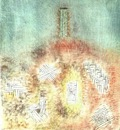 Klee The column, 1926, Collection Mr  and Mrs  Rudolf Burge,
