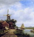 Kleijn Lodewijk Village corner at river Sun
