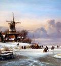 Kleijn Lodewijk Winterlandscape Sun