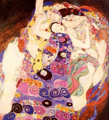 Gustav Klimt Vierge, De