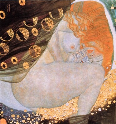 Klimt, Gustav Danae end
