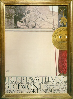 Poster for the 1st Secession exhibition