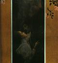 Klimt Love, 1895, 60x44 cm, oil on canvas, Historisches Muse