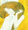 Klimt The Beethoven Frieze, 2, 1902 Secession Building, Vie