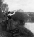 Knight Daniel Ridgway Hailing the ferry Sun