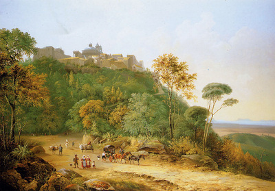 Knip Augustus View on Ariccia Sun