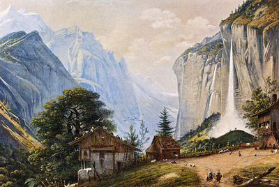 Knip Henri A Mountainous Landscape