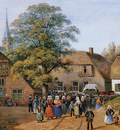 Knip Henri Coming out of church Sun