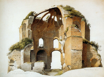 Knip Josephus augugstus The temple of Minerva Medica in Rom
