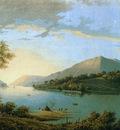 Knip Josephus Riverlandscape Sun