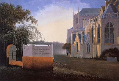 Knip Mattheus Family graves of De Willebois Sun