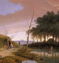 Knip Mattheus Fishermen and view on Den Bosch Sun