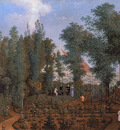 Knip Mattheus The family De Willbois in garden Sun