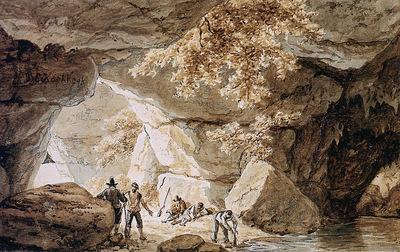 Koekkoek Barend C Caves Sun